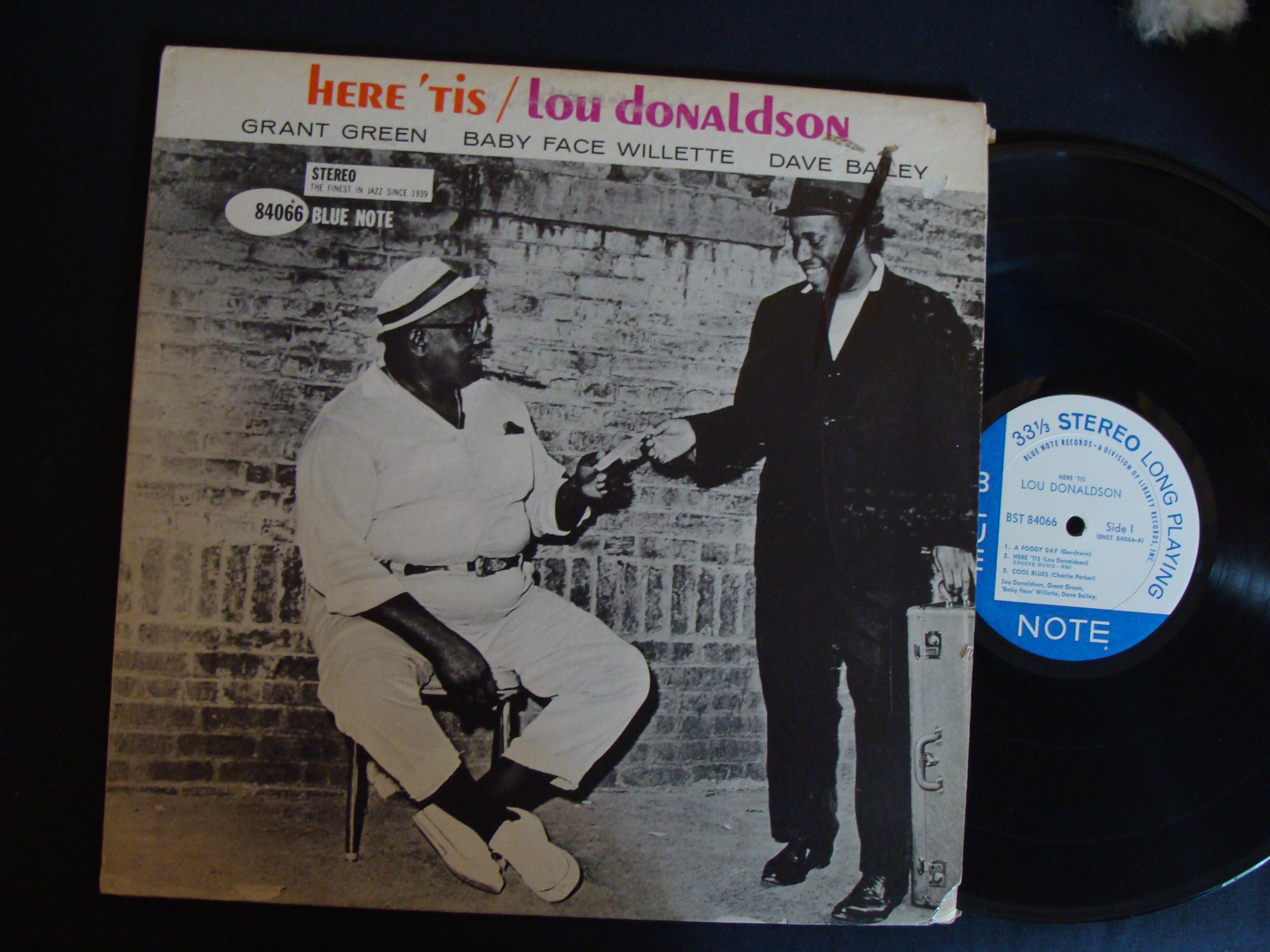 Lou Donaldson Here Tis