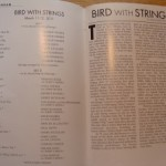 Seeing Live Jazz: Bird With Strings (Really)