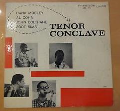 tenor conclave jazz vinyl