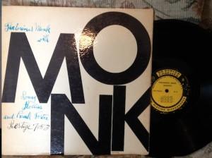 Monk Jazz Vinyl