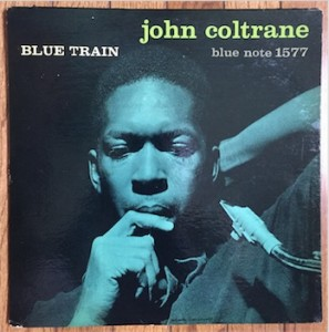 Blue Train jazz vinyl