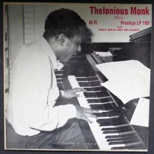Thelonious Monk 10-inch Jazz Vinyl
