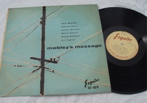 Mobley's Message Jazz Vinyl