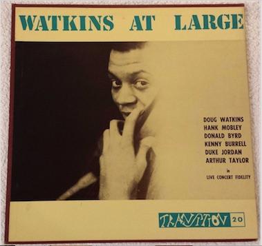 Doug Watkins Jazz Vinyl