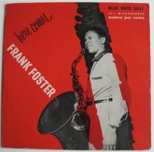 Frank Foster Jazz Vinyl