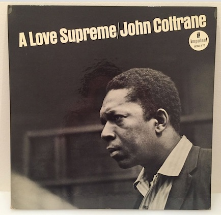 A Love Supreme Promo Jazz Vinyl