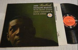 Ballads John Coltrane Jazz Vinyl