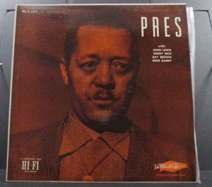 Lester Young Jazz Vinyl