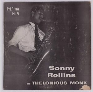 Sonny Rollins 10 Inch Jazz Vinyl