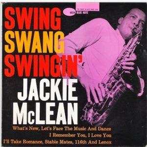 Jackie McLean Rare Jazz Vinyl