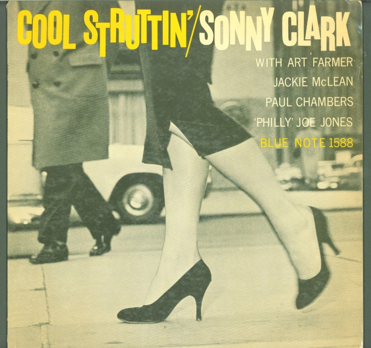 The Jazz Record Center had an auction last week and I was keeping tabs on a  few of their records, including: Sonny Clark, Cool Struttin', Blue Note  1588.