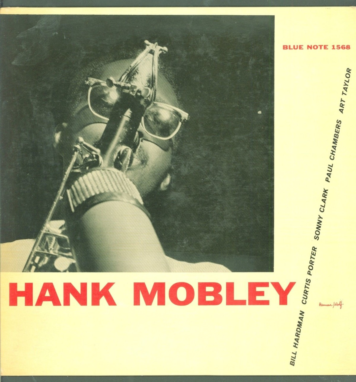 Ok, we have a final price on that copy of Hank Mobley, Blue Note 1568 from  the Jazz Record Center. The final price was $4,619. And the winner of the  contest ...