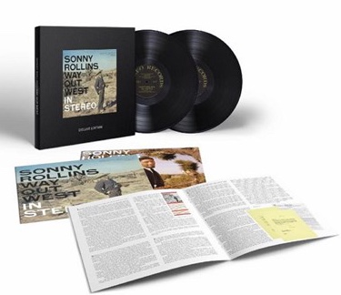 Review, Sonny Rollins, Way Out West, Deluxe Boxed Set, As Good as It